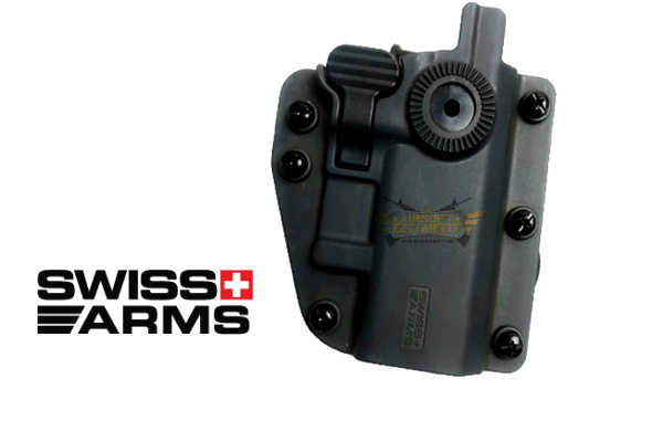 Holster rigide Universel Swiss Arms ambidextre Adaptx