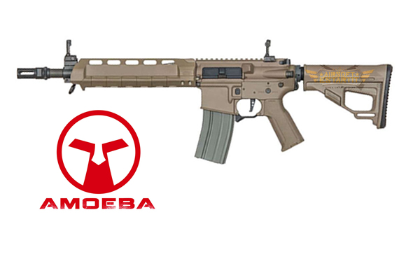 ares amoeba m4-aa assault rifle middle short desert