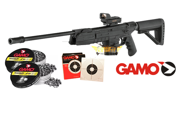 Gamo Air Rifle G-FORCE 15 + TARGETS + 2 LEADING BOXES