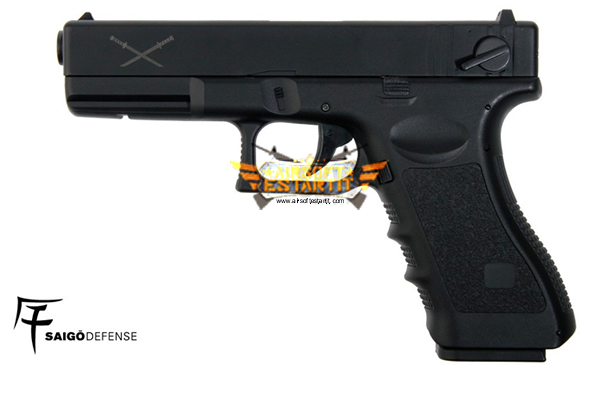 saigo yakuza 18 tipo glock electric black