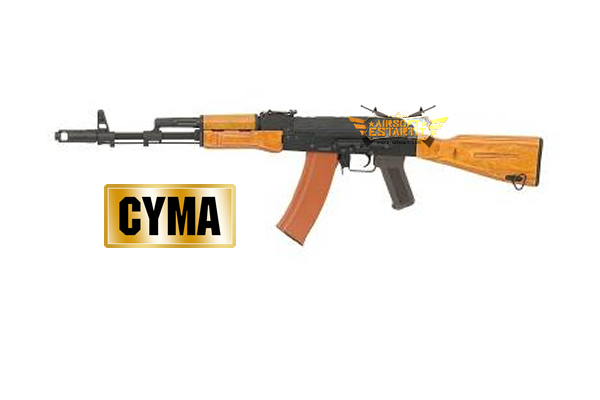 AK47 CYMA FULL METAL WOOD CM048