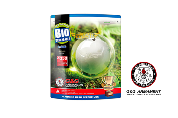 Bb's biodegradable G&G 0.23g blanche