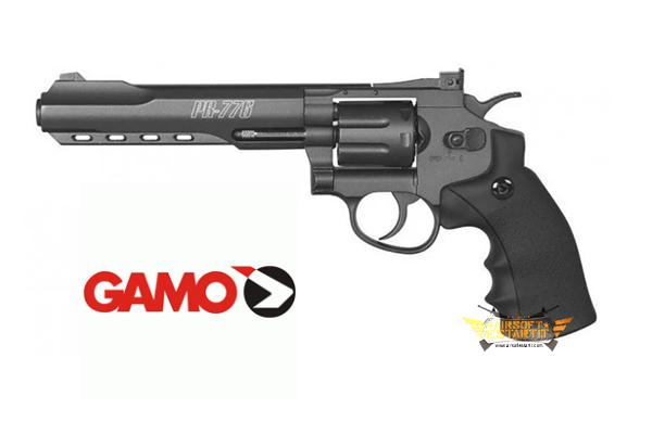 Gamo Revolver PR-776 Co2 4.5 mm Lead - Revolver 4.5mm - Airsoft shop, replicas and military clothing