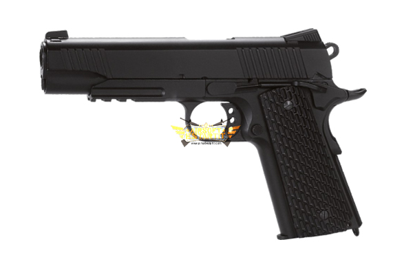 KWC CO2 PISTOL 1911T BLOWBACK FULLMETAL 4.5 - steel bb guns 4.5mm - Airsoft shop, replicas and military clothing