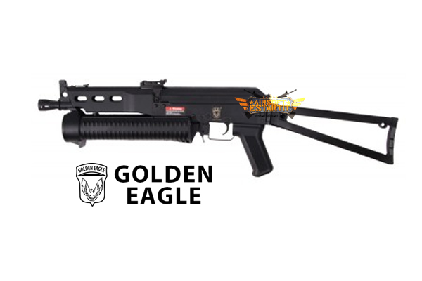 AEG AK Bizon P19 Golden Eagle