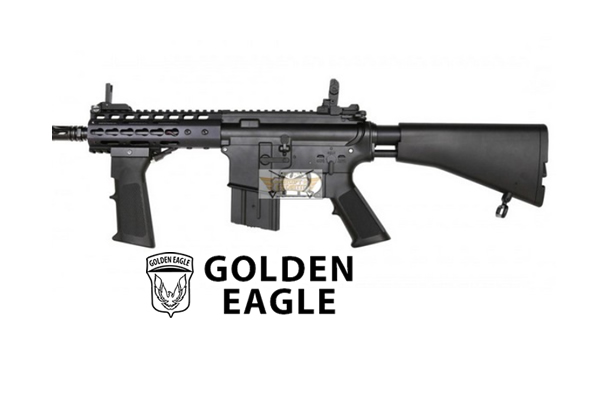 M4 CQB Keymod Culata retractil Golden eagle