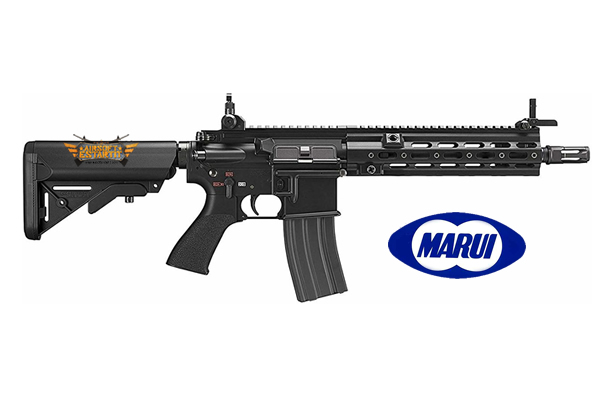 Tokyo Marui Hk416 Delta Custom Black Recoil Rifle Tokyo Marui Airsoft Shop Replicas And Military Clothing