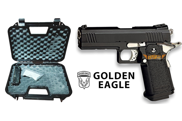HI-CAPA 4.3 Golden Eagle pistol with case