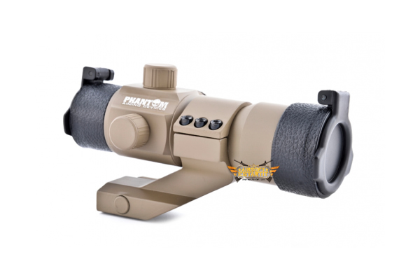 TACTICAL RED/GREEN DOT W/ANGLE MOUNT PHANOM (DESERT COLOR)