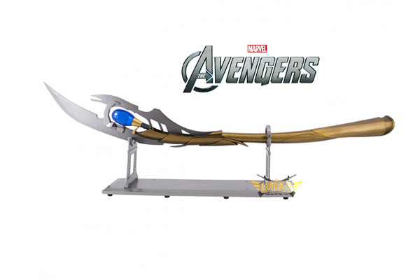 Scepter S0230 Loki model of the avengers, replica Unofficial,