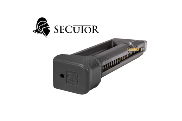 CHARGER SECUTOR CO2 23 RDS BLACK GUN GLADIUS MAGNA