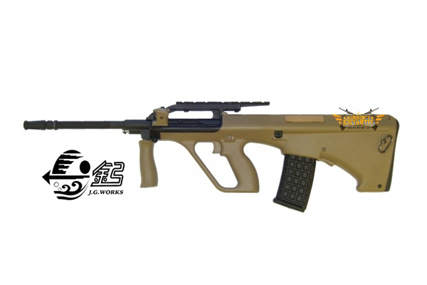 RIFLE STEYR AUG A2 TAN J.G. WORKS ELECTRIC (0448AT)