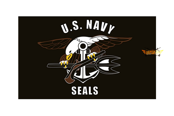 1 x 1.5M Navy Seals Flag