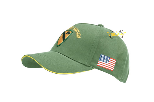 Baseball cap US Cavalry WWII 3D