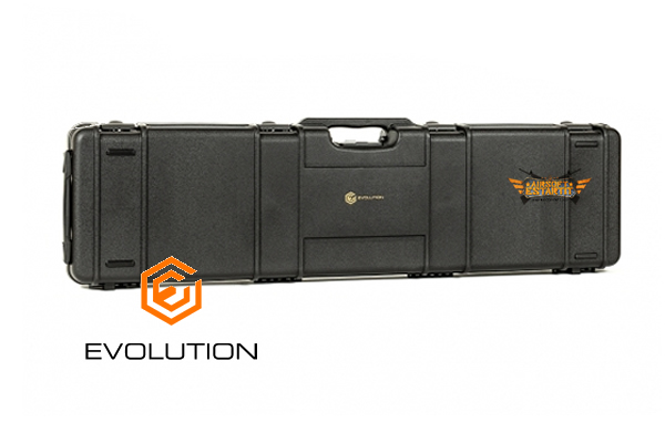 EVOLUTION WHEELED RIFLE HARD CASE (INTERNAL SIZE 117,5X29X12)