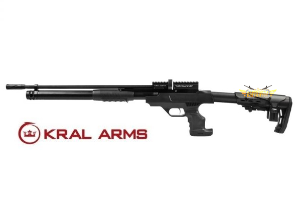 PCP rifle Puncher Rambo Pump Action Kral - 6.35 mm 24 joules