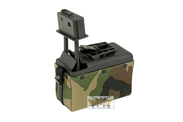 Chargeur Woodland pour M249 2500rds