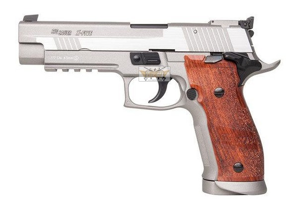 Sig Sauer P226 X-Five Silver 4.5 - steel bb guns 4.5mm - Airsoft shop, replicas and military clothing