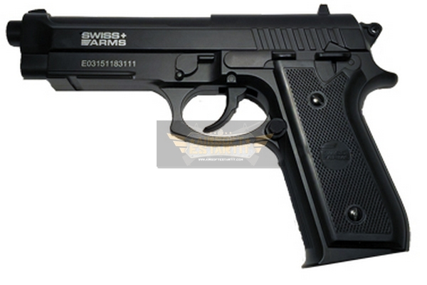 Swiss arms sa p92 steel bb guns 4 5 airsoft shop for Bb shop