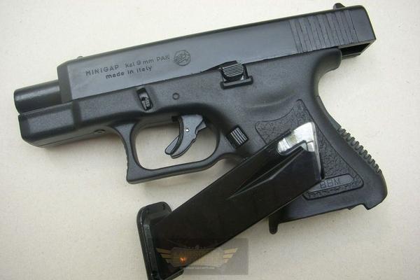 Blank Pistol Bruni Minigap G26 Bruni Airsoft Shop