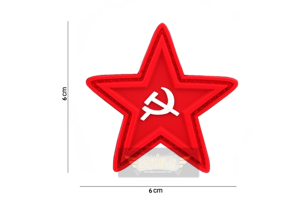 Patch Star hammer and sickle
