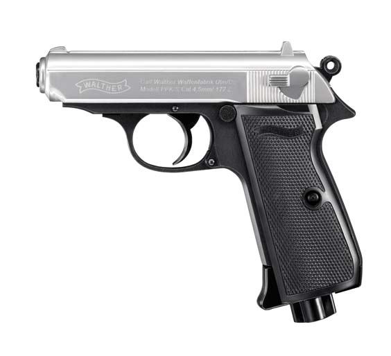 Walther PPK/S Duotone cal 4 5 - steel bb guns 4 5mm
