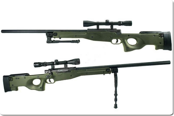 Well L96 Sniper Verde Version Upgrade SAIGO DEFENSE