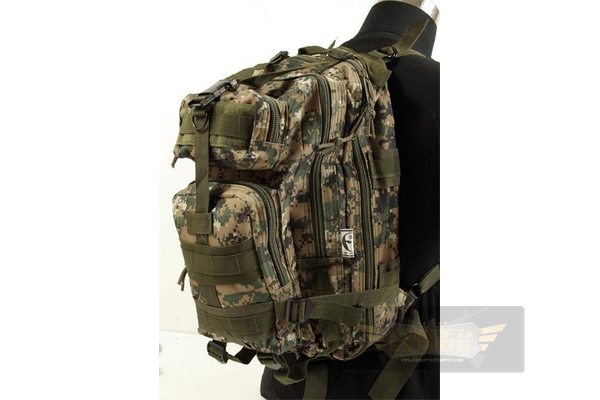 Compact assault backpack MARPAT