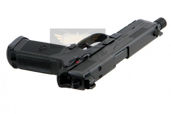 Gun Fn Fnx 45 Tactical Black Cybergun Airsoft Shop Replicas And Military Clothing