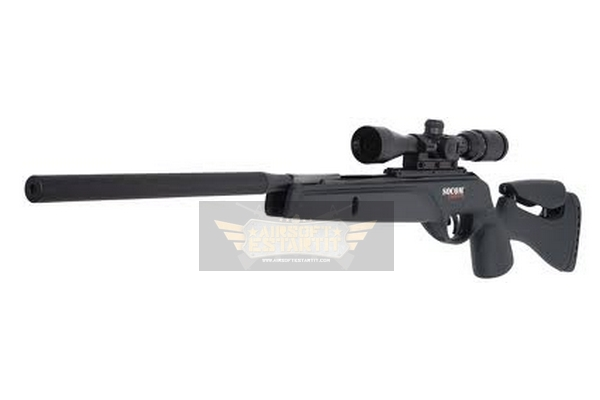 GAMO Socom tactical 4.5 + scope 3-9x50