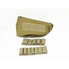 Cheek Pad portacartuchos tan