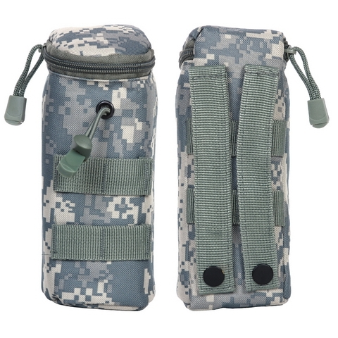 molle pouch airsoft bb bottle acu
